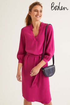 Boden Purple Florence Dress