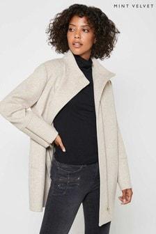 Mint Velvet Camel Coat