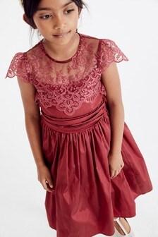 Lace Bodice Dress (3-16yrs)