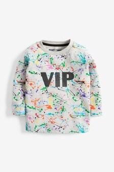 Long Sleeve VIP Splat T-Shirt (3mths-7yrs)