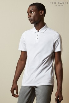 Ted Baker Dayja Ribbed Polo Top