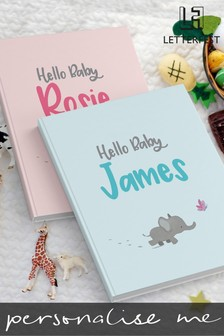 Personalised New Baby Story Book by Letterfest