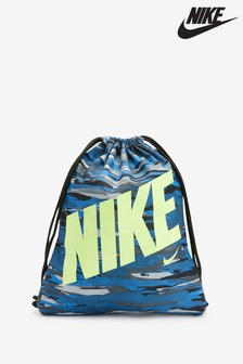 Nike Kids Blue Print Gym Sack