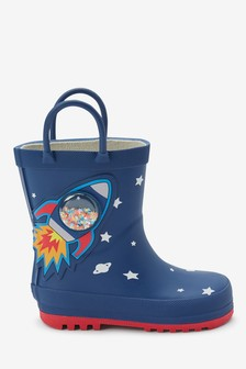Rocket Wellies (Younger)
