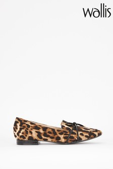 Wallis Blessed Leo Bow Loop Loafers