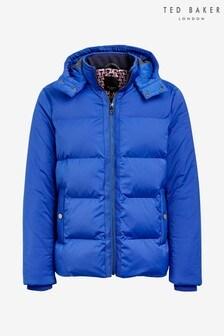 Ted Baker Blue Scrantn Heavy Padded Jacket