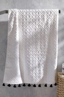 Tufted Geo Towel
