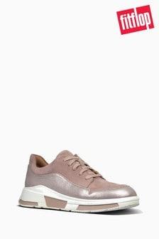 FitFlop™ Mink Freya Suede Sneaker