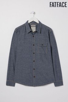 FatFace Blue Chambray Shirt