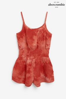 Abercrombie & Fitch Floral Print Playsuit