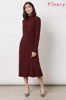 Finery London Red Portland Dress