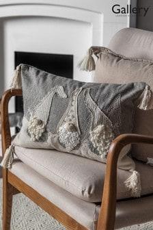 Gallery Direct Natural Nordic Gnomes Cushion
