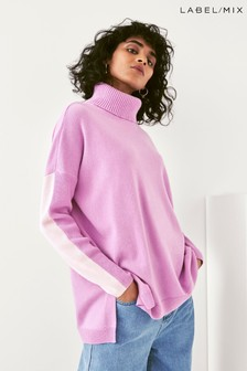 Next/Mix Boxy Roll Neck Jumper