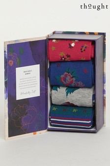 Thought Rosie Flowers Sock Box