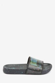 Lenticular Goal Slipper Sliders (Older)