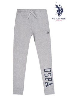 U.S. Polo Assn. Grey U.S. Polo Joggers