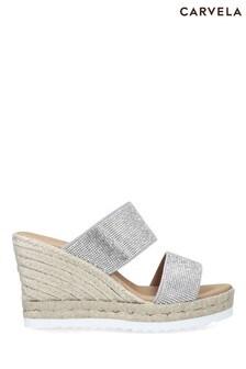 Carvela Chrome Klear Sandals