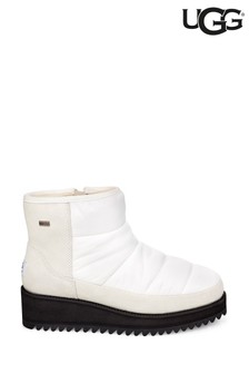 UGG® White Mini Ridge Boots