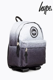 Hype. White Speckle Fade Mini Backpack