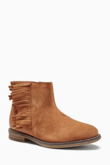 Tassel Ankle Boots (Older)