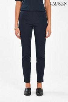 Lauren Ralph Lauren® Navy Stretch Skinny Fit Trousers
