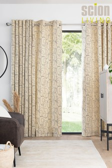 Scion Living At Next Epsilon Eyelet Curtains