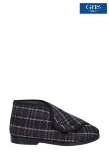 GBS Black William Great British Bootee Slippers
