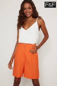 F&F Peach Flippy Shorts
