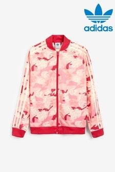 adidas Originals Pink Camo Track Top