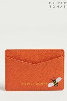 Oliver Bonas Orange Bee Wild Orange Card Holder