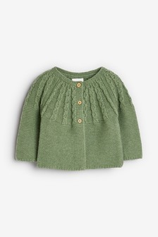 Cable Detailed Cardigan (0mths-2yrs)