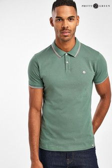 Pretty Green Barton Tipped Polo