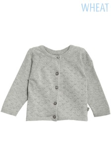 Wheat Grey Maja Knit Cardigan