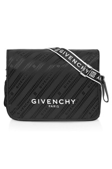 Givenchy Kids Baby Unisex Black Cotton Changing Bag