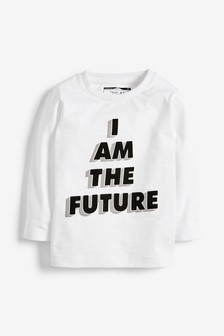 Long Sleeve I Am The Future T-Shirt (3mths-7yrs)