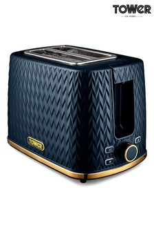 Empire 2 Slot Toaster by Tower