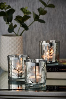 Set of 3 Beaumont Tealight Holders