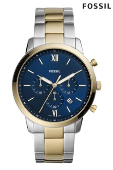 Fossil Neutra Two Tone Chronograph Watch