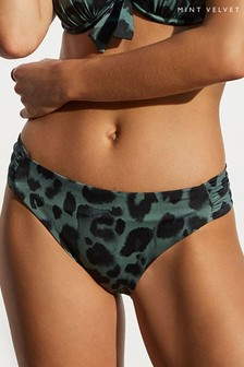 Mint Velvet Ruched Side Bikini Briefs
