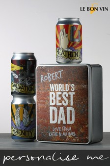 Personalised Best Dad Divine Craft Beer by Le Bon Vin