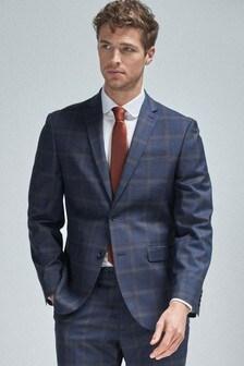 Regular Fit Check Suit
