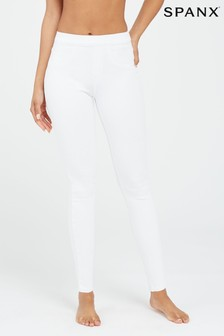 SPANX® White Jeanish Leggings