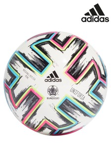 adidas White Euro 20 Mini Football