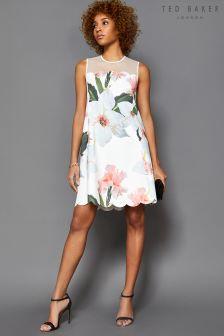 Buy dresses ted baker white tedbaker from the next uk online shop ted baker carpila sheer top bloom dress mightylinksfo