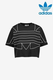 adidas Originals Large Logo Cropped T-Shirt