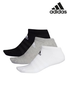 adidas Kids Cushioned Low Cut Socks Three Pack