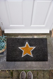 Chic Glittery Star Doormat
