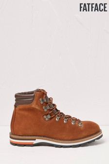 FatFace Brown Hampshire Hiker Boots