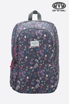 Animal Asphalt Grey Bright Backpack