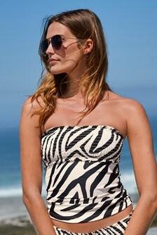 Shirred Swimwear